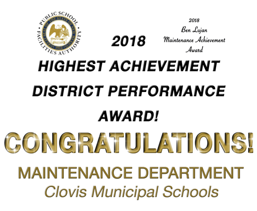 Image announcing 2018 Maintenance Award