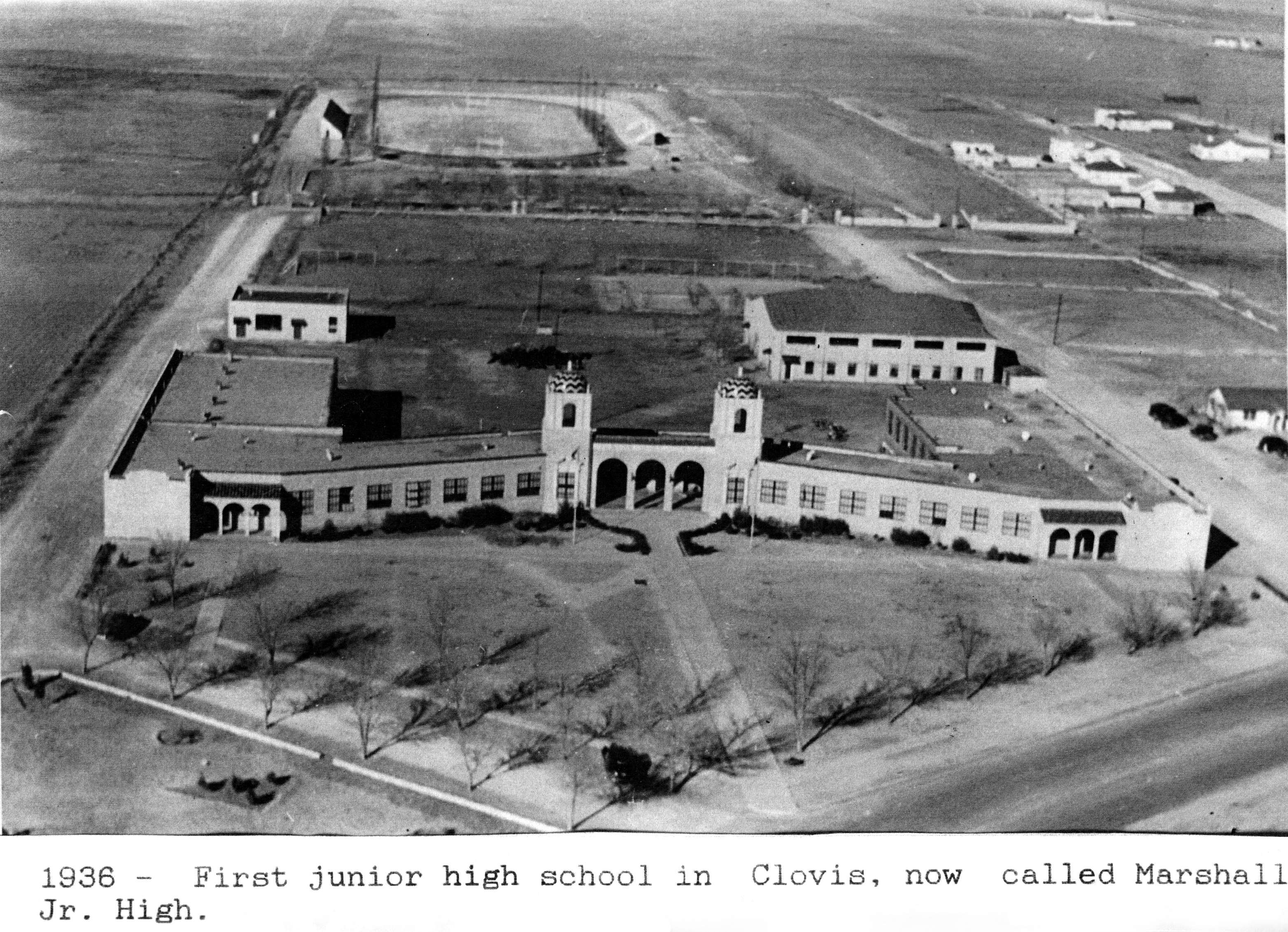 Historic photo of Marshall Middle School
