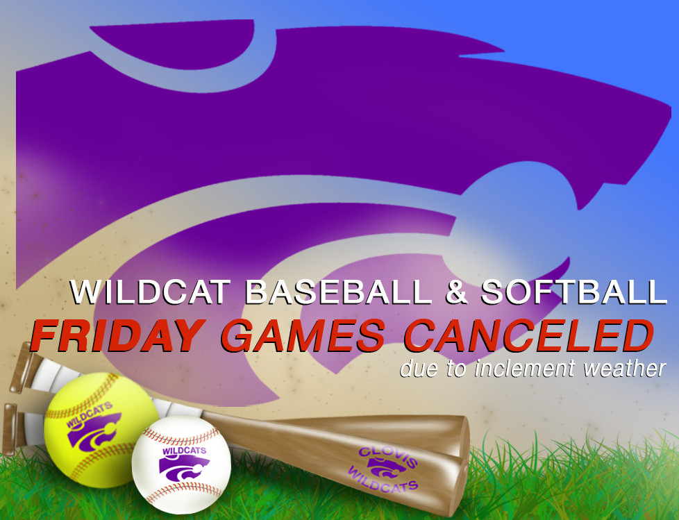 Image with text announcing game cancelation