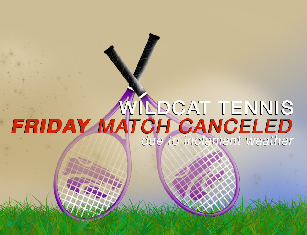 Image with text announcing match cancelation