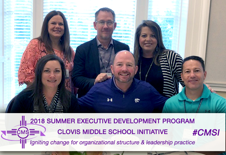 Image of CMS staff attending UVA summer program