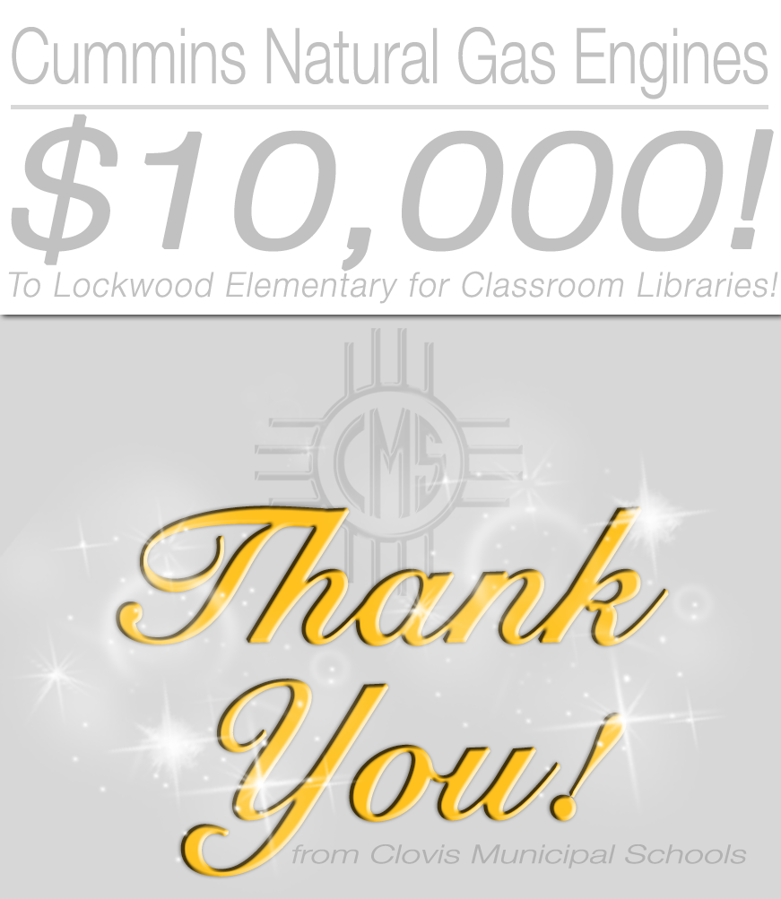 Image of thank you card to Cummins Natural Gas Engines