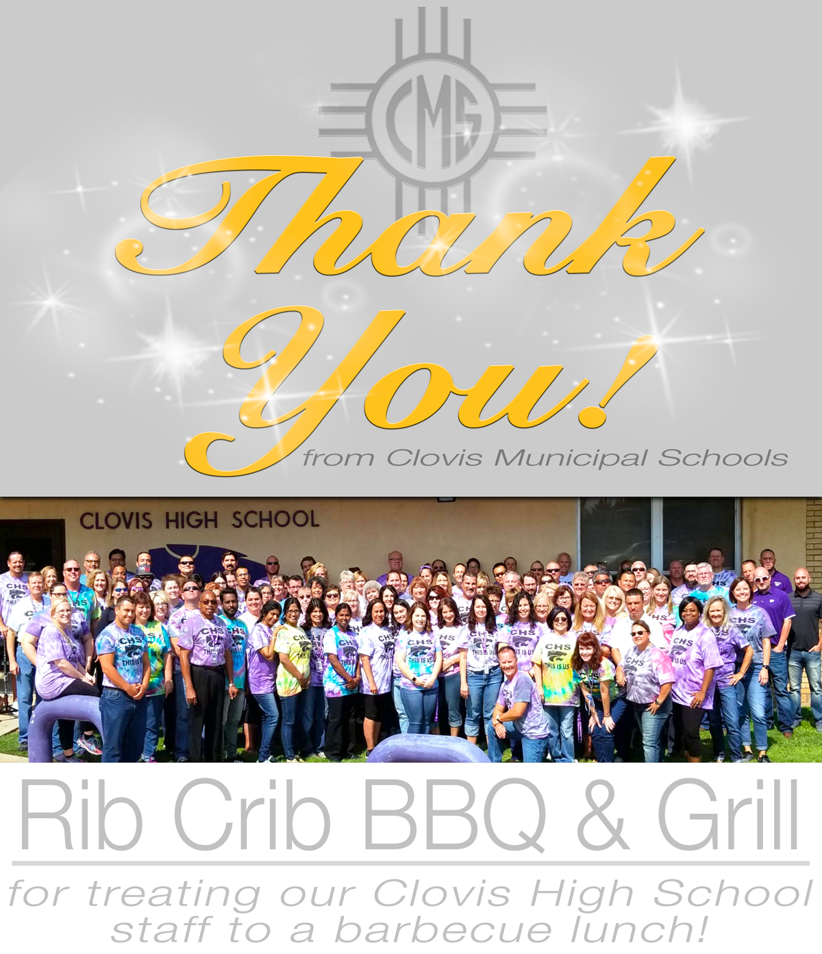 Image of text Thanking Rib Crib