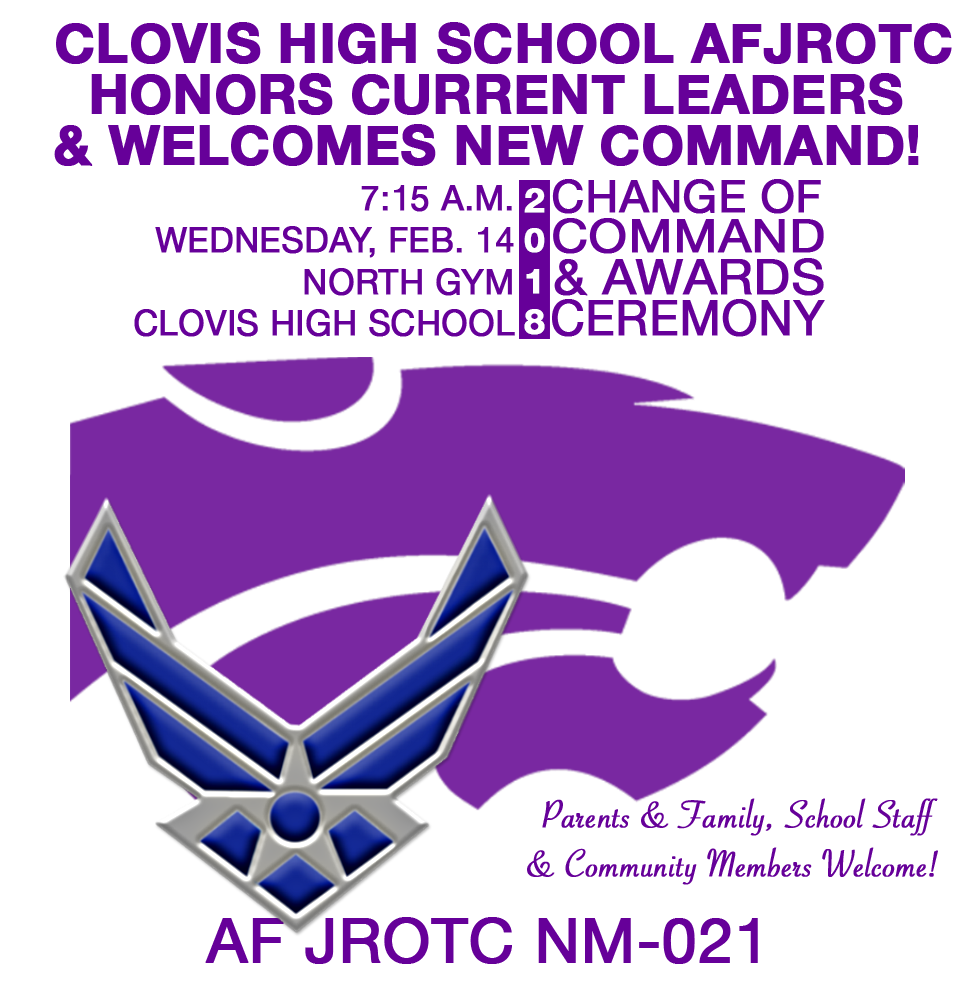 Image of ROTC symbol, wildcat with text