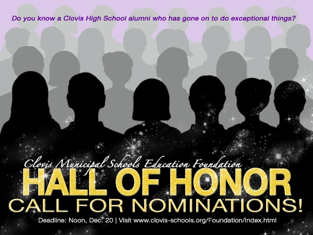 Image of human silhouettes with text announcing call for nominations