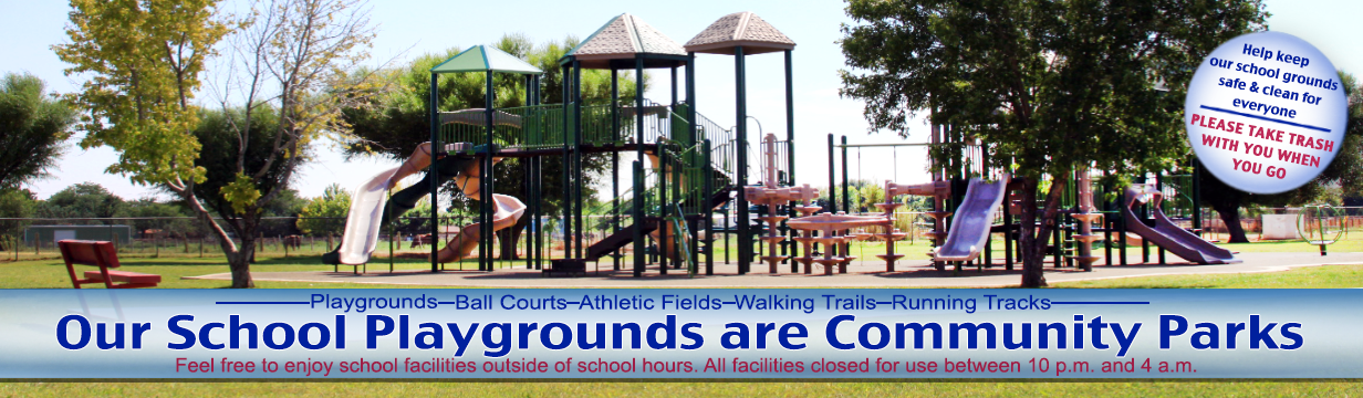 Our School Playgrounds are Community Parks