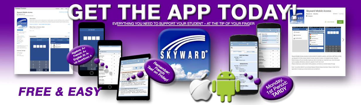 Get The Skyward App